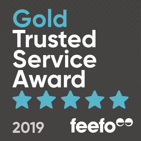 Feefo Gold Service Rating
