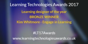 learning designer of the year kim whitmore