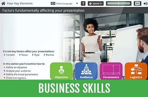 Off the shelf elearning - Business Skills
