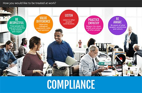 Off the shelf elearning - Compliance